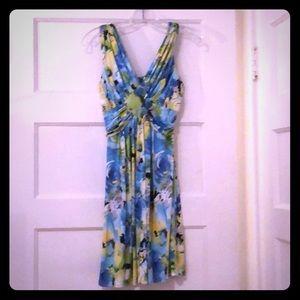Lightweight, sleeveless dress.
